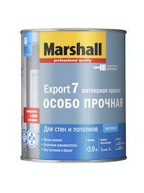 Краска Marshall Export-7, матовая BW, 0,9 л