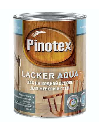 Лак Pinotex Aqua 10 матовый, 1 л