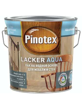 Лак Pinotex Aqua 10 матовый, 2,7 л
