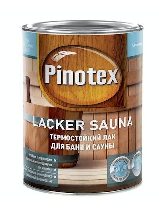 Лак Pinotex Sauna 20 полуматовый, 1 л