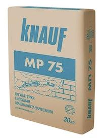 Штукатурка гипсовая машинная Кнауф МП-75, 30 кг