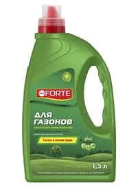Удобрение для газона Bona Forte, 1,5 л