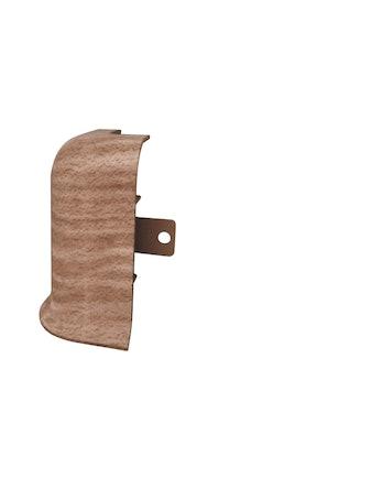 Угол наружный с текстурой к плинтусу Rico Leo, бук натуральный №155, 2 шт.