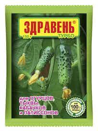 Удобрение для огруцов Здравень Турбо, 150 г