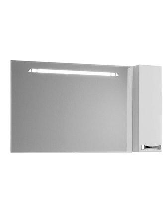 Шкаф-зеркало правый Акватон Диор 120, белый