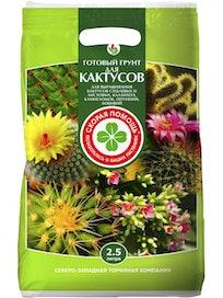 Грунт для кактусов Скорая помощь, 2,5 л
