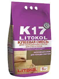 Клей для плитки Litokol К17, 5 кг