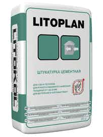 Штукатурка Litoplan, 25 кг