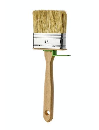 Кисть плоская КП-70 х 25 мм, деревянная ручка