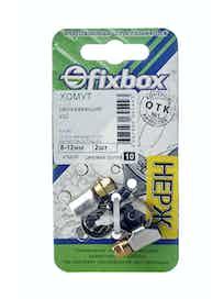 Хомут нержавеющий Fixbox W2, 8-12 мм, 2 шт.