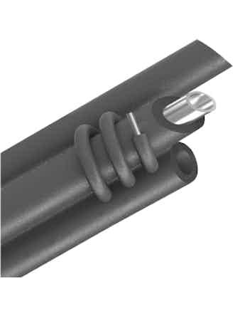 Изоляция для труб ЭНЕРГОФЛЕКС 110 мм 2 м