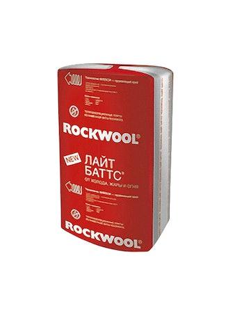 Теплоизоляция Rockwool Лайт Баттс 100 х 60 х 10 см, 3 м2