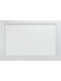 Экран Модерн Готика, 600 х 1200 мм, белый