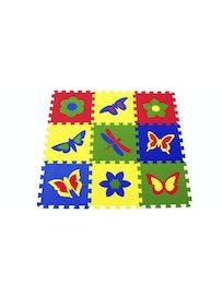 Пазлы бабочки 33x33 (0,98 м2)