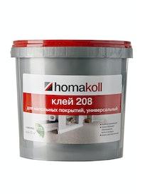 Клей для гибких напольных покрытий Homakoll 208, 4 кг