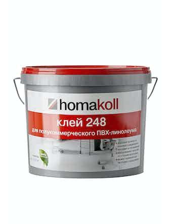 Клей для полукоммерческого линолеума Homakoll 248, 7 кг
