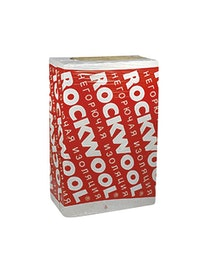 Теплоизоляция Rockwool Флор Баттс 100 х 60 х 2,5 см, 4,8 м2