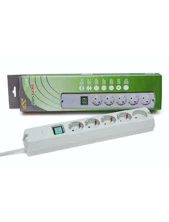 Фильтр сетевой МОСТ LRG box 1,7м белый