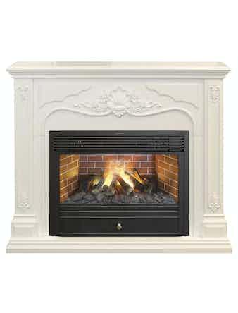 Каминокомплект Real Flame Victoria 26 WHT 3D Nav