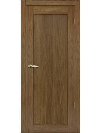 Дверное полотно Сканди, орех копенгаген, 600 х 35 х 2000 мм