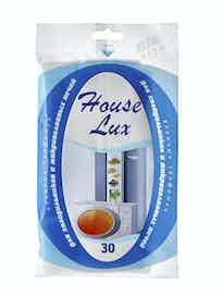 Влажные салфетки для холодильника и СВЧ House Lux, 30 шт.