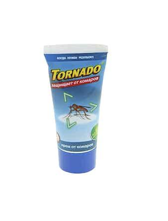 Крем ТОРНАДО от комаров 60 мл туба