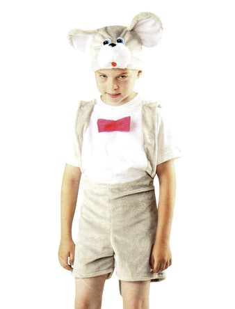 Костюм карнавальный Мышонок для ребенка 4-7 лет