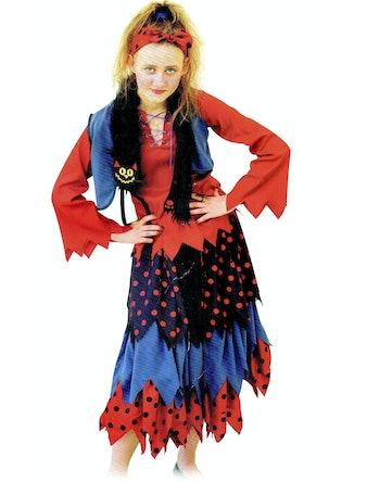 Костюм карнавальный Баба-Яга, текстиль