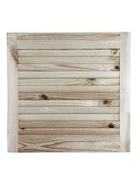 Дверка жалюзийная, хвоя, сорт В, 467 x 494 мм