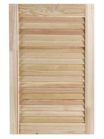 Дверь жалюзийная FXA, хвоя, сорт В, 605 x 394 мм