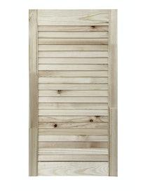 Дверка жалюзийная, хвоя, сорт В, 715 x 394 мм
