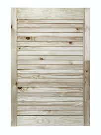 Дверка жалюзийная, хвоя, сорт В, 715 x 494 мм