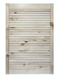 Дверка жалюзийная, хвоя, сорт В, 850 х 594 мм