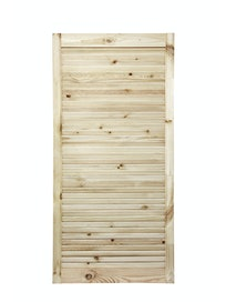 Дверка жалюзийная, хвоя, сорт В, 1205 х 594 мм