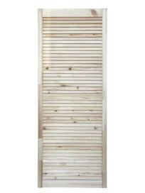 Дверка жалюзийная, хвоя, сорт В, 1505 х 594 мм