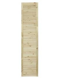 Дверка жалюзийная, хвоя, сорт В, 1805 х 394 мм