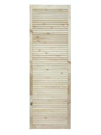 Дверка жалюзийная, хвоя, сорт В, 1805 х 594 мм