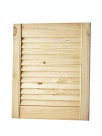 Дверка жалюзийная, хвоя, сорт В, 467 x 394 мм