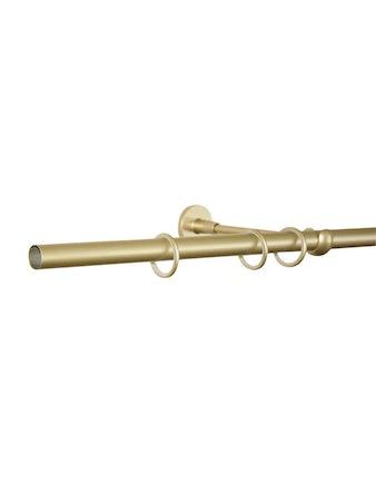 Карниз без наконечника 582.1, 2,8 м, цвет золотой