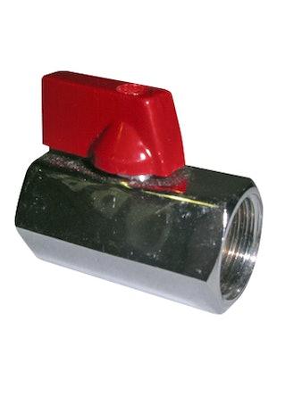 Кран шаровый мини 1/2 ВР-ВР