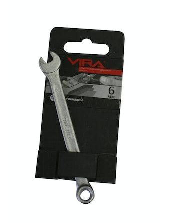 Ключ комби VIRA 6мм Bright 511001