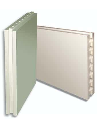 Плита пазогребневая пустотелая Волма влагостойкая 667 х 500 х 80 мм