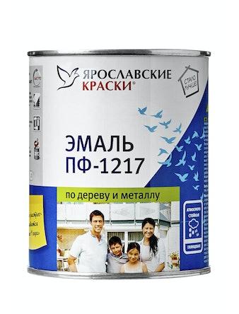 Эмаль ПФ-1217 белая, 1 кг