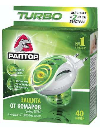 Комплект Раптор Turbo прибор + жидкость