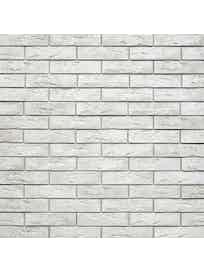 Настенная плитка гипсовая Лофт Брик А330-00, белая, 52 х 26 см