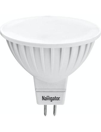 Лампа LED NavigatorMR16,7w,230,GU5.3,х/с