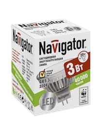 Лампа LED Navigator MR16 3W GU5.3