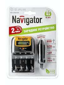Зарядное устройство Navigator 94474 NCH-LCD402USB