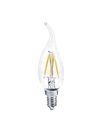 Лампа LED 94 483 свеча,5W,E27,мат,хол