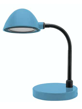 Лампа настольная LED, 3W, синяя